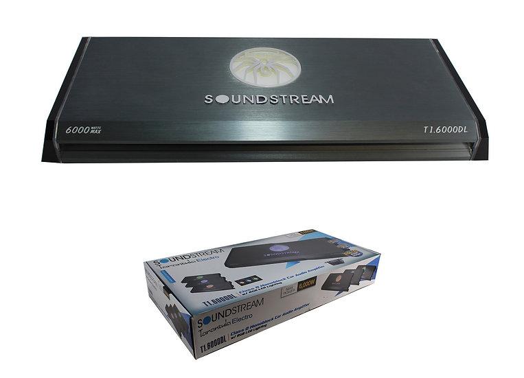 6000W Monoblock Amplifier Class D 1 Ohm Stable w/ LED Accents T1.6000DL