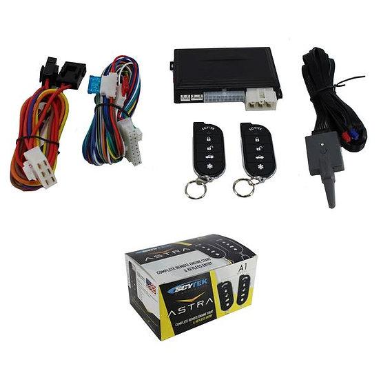 ScyTek A1 Complete 1 Button Remote Engine Start System w/ 2 Remotes