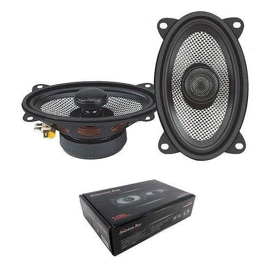 """Pair of 4x6"""" 2 Way Coaxial Speaker w/ Neodymium Swivel Tweeter 100W 4 Ohm SQ 4.6"""