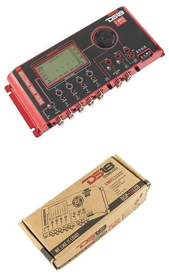 DS18 DSP-16LCD 6 Way Digital Audio Processor 2 inputs 8 outputs Crossover EQ