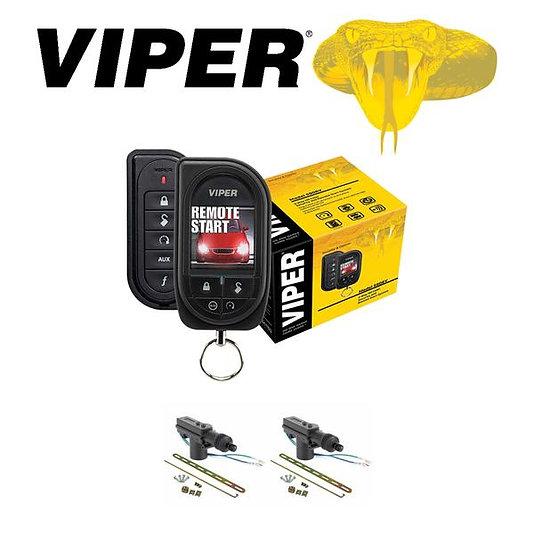 Viper Color OLED 2-Way Security and Remote Start + 2 Door Locks 5906V