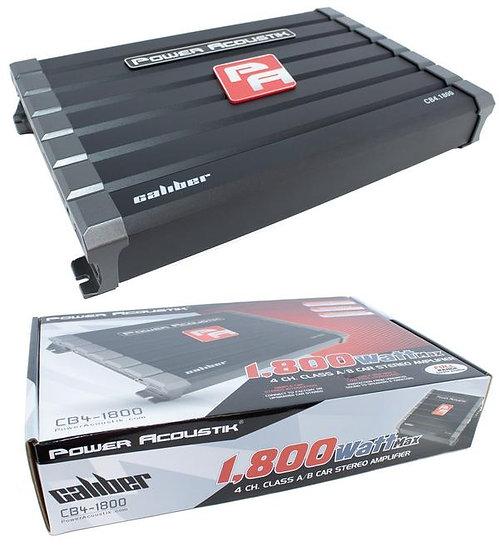 1800 Watt 4 Channel Class A/B Car Stereo Amplifier Full Range Bridgeable CB4