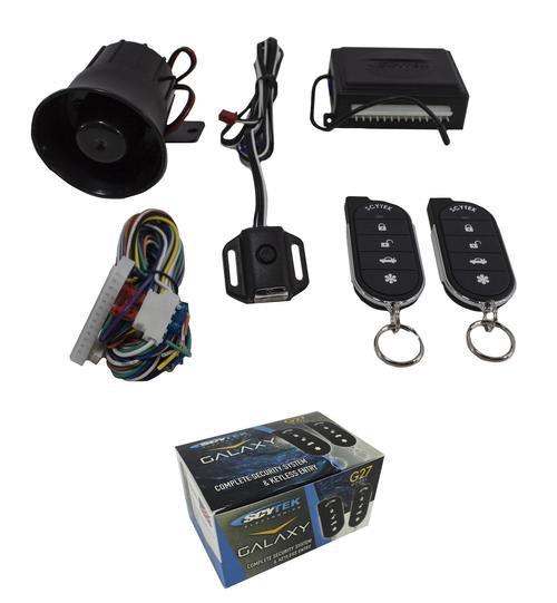 Keyless Entry Security System w/ Remote Start Car Alarm Anti Theft 2 Way G5.2W V