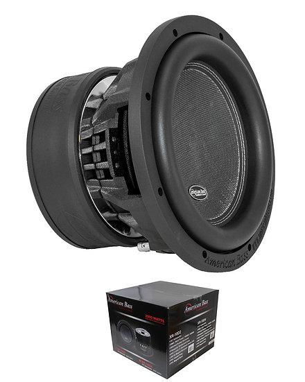 """American Bass 10"""" Dual Voice Coil 2 Ohm 2000 Watt Subwoofer XR-10D2"""