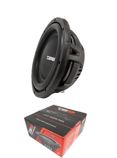 """DS18 10"""" 1000 Watts Dual 4 OHM Shallow Subwoofer Pro Car Audio IXS10.4D"""