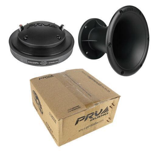 "2"" Round Horn + Driver 220W 8 Ohm Pro Car Audio PRV Audio WGP14-50 D3220Ph"