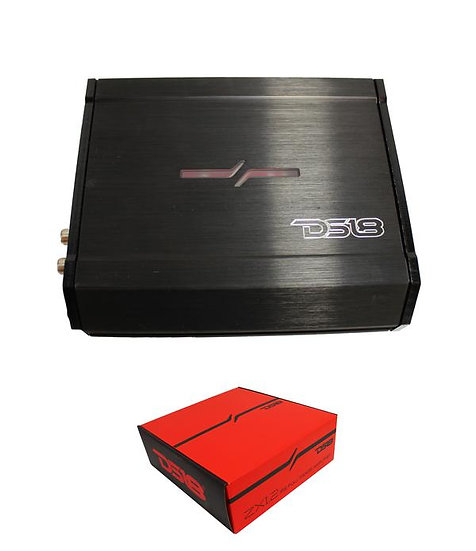 DS18 Elite 4 Ohm 500 Watt 2-Channel Full Range Class D Amplifier ZXI.2