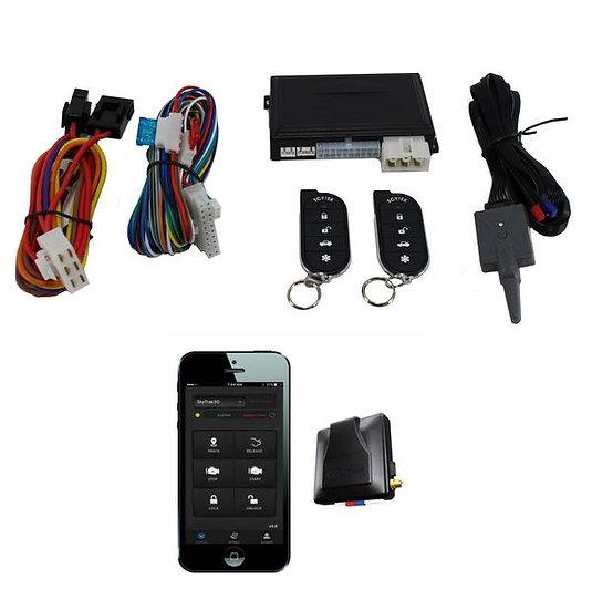 ScyTek A1 1 Button Remote Engine Start + G3 Mobilink GPS Tracker w/ App