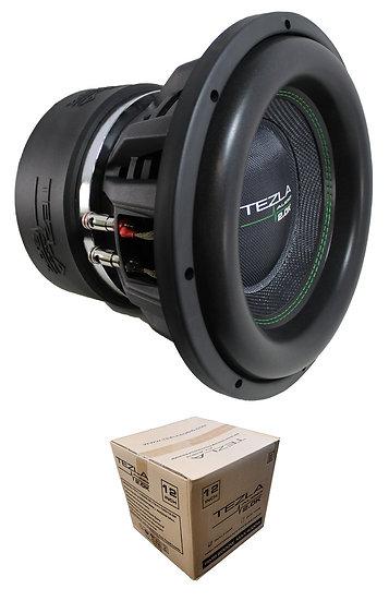 """Tezla Audio 12"""" Series 2.0K 4000W Dual 2 Ohm Subwoofer TZV1-12D22.0K"""