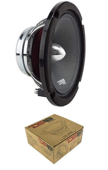 "DS18 PRO-NEO6 6.5"" 500W 4 Ohms Neodymium Midrange Speaker Car Audio"