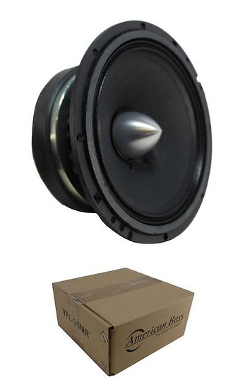 "6.5"" Midrange Open Back Speaker 350W 8 Ohm Pro Car Audio Mids VFL-65MR"