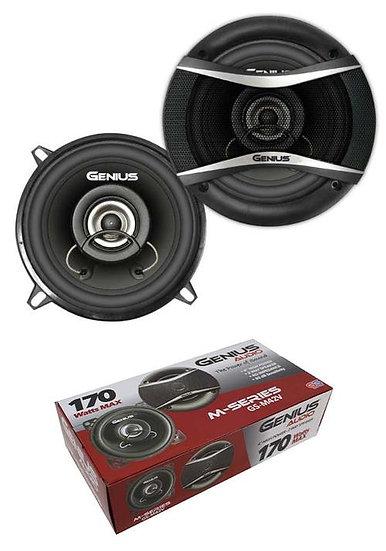 "Pair of 4"" 2 Way 4 Ohm Coaxil Speakers 170W Neodymium Dome Genius Audio GS-M42V"