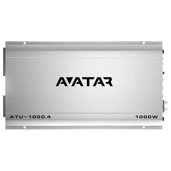 Avatar ATU-1000.1D Monoblock Class D 1000 Watt Amplifier Tsunami Series