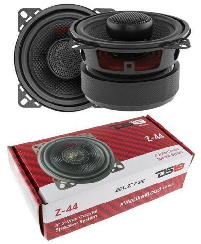 """DS18 Z-44 4"""" 2 Way Coaxial Door Speakers 240 Watt 4 Ohm Fiberglass Cone"""