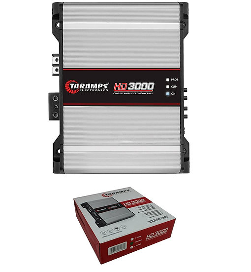 Taramps HD3000-2 Full Range Amplifier 2 Ohm 3000W Car Audio Monoblock