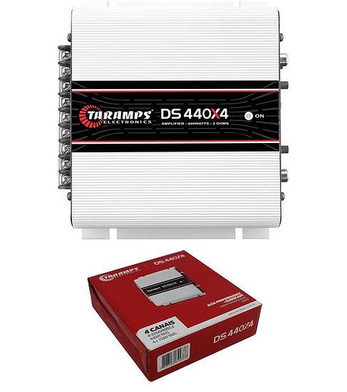 Taramps DS440X4 Full Range 2 Ohms 440W 4 Channel Class D Car Audio Amplifier