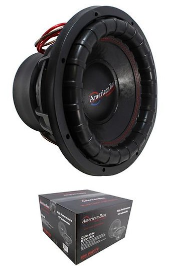 "12"" Subwoofer 3000W 3"" 4 Ohm DVC Pro Car Audio Bass American Bass XFL-12-D4"