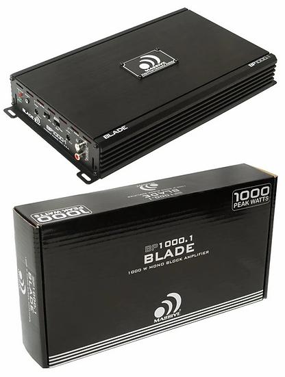 1000W 2 Channel Amplifier Class A/B Pro Car Audio Massive Audio BP1000.2