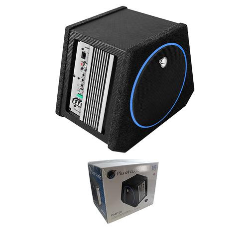 "Planet Audio PAB100 10"" 600W 4-Ohm Amplified Passive Radiator Subwoofer"