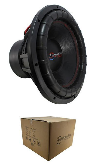 "15"" Subwoofer 3000W 3"" 4 Ohm DVC Pro Car Audio Bass American Bass XFL-15-D4"