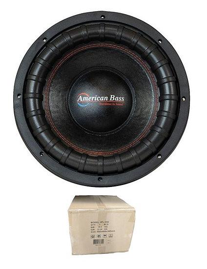"15"" Subwoofer 2000W 3"" 2 Ohm DVC Pro Car Audio Bass American Bass XFL-15-D2"