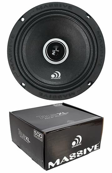 "1x 8"" Massive Audio Pro Mid Range 500W Speaker 8 ohm M8XL"
