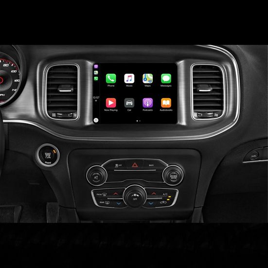 """2015-2019 Dodge Charger / Challenger Android and Apple Carplay 8"""" Radio"""