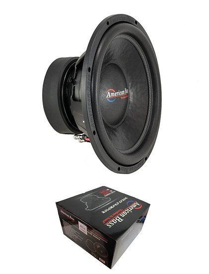 "American Bass 15"" Dual 4 Ohm Voice Coil 2400 Watt Subwoofer ELITE 1544"