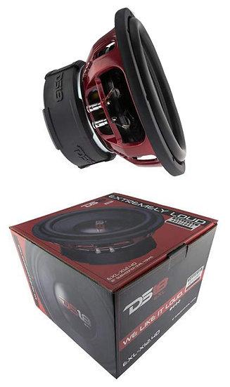 """DS18 EXL-X12.2D 12"""" 2500W 2Ohm DVC Pro Car Audio Subwoofer"""