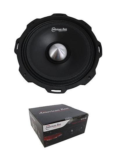"American Bass 8"" Godfather Shallow Mid-Range 800 Watt 4 Ohm Loudspeaker GF8MR"