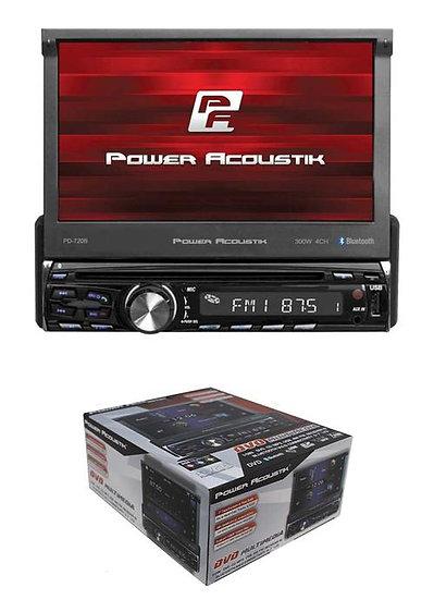 "7"" Flip Down Bluetooth Single Din Touch Screen Head Unit DVD Multimedia PD-720B"