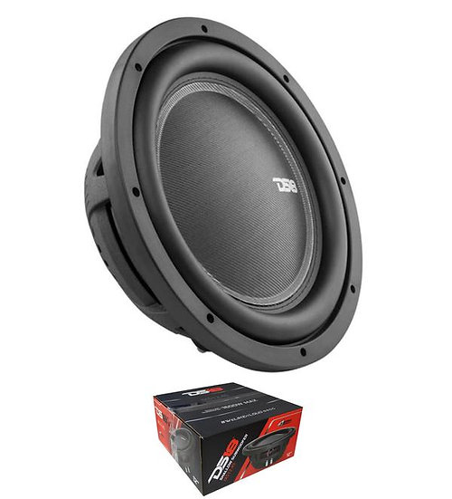 "DS18 12"" 1600 Watts Single 4 Ohm Shallow Subwoofer Pro Car Audio IXS12.4S"