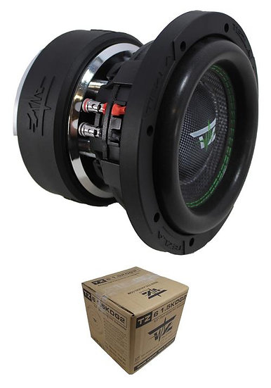 "Tezla Audio 6.5"" 900W Dual 4 Ohm High Performance Car Subwoofer TZ61.5KD4G2"