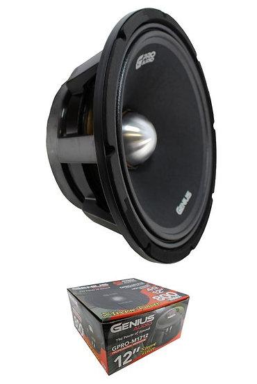 """12"""" Midrange Loudspeaker 800W 4 Ohm Pro Car Audio Mids Genius GPRO-M1712"""
