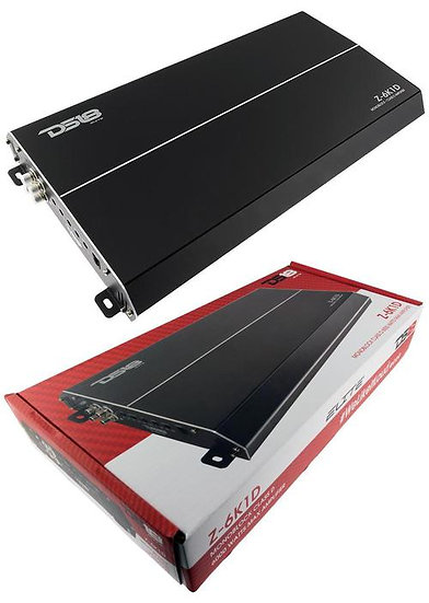 Elite 2 Channel Class D Monoblock Car Amplifier 6000 Watts DS18 Z-6K1D