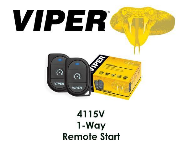 Viper Basic 1-Way One Button Remote Start System SmartStart Compatible 4115V
