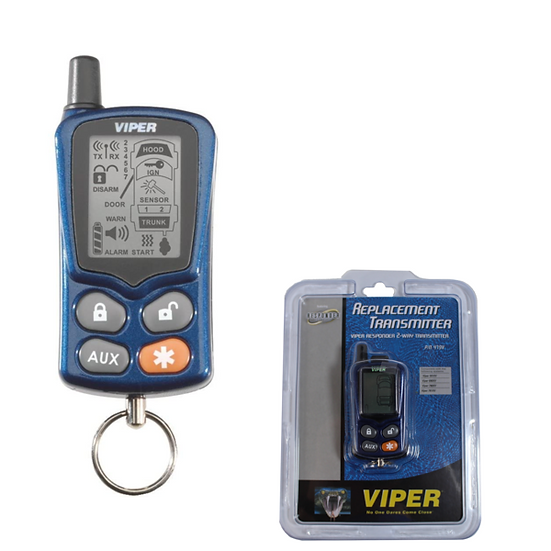 Viper Responder 2-Way LCD Remote Start 4-Button Replacement Transmitter 479V