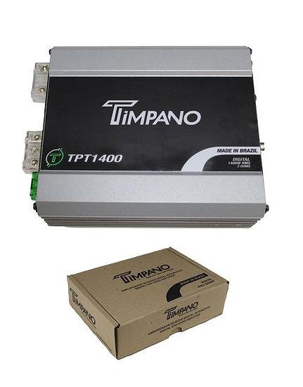 1400W Digital Micro Mono Block Amplifier 2 Ohm Mini Amp Timpano TPT1400.2