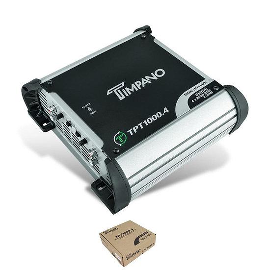 Timpano 4 Channel 1000 Watt 2 Ohm Class D Full Range Amplifier TPT-1000.4
