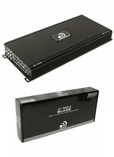 Massive Audio 1500 Watts 2 Channel Class AB Amplifier Blade BP1500.2