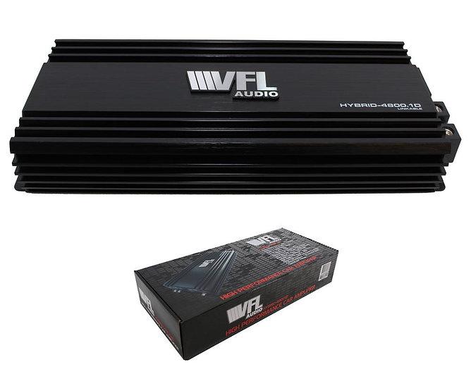 American Bass Hybrid Amplifier Linkable 4800 Watts Class D VFL HYBRID-4800.1D