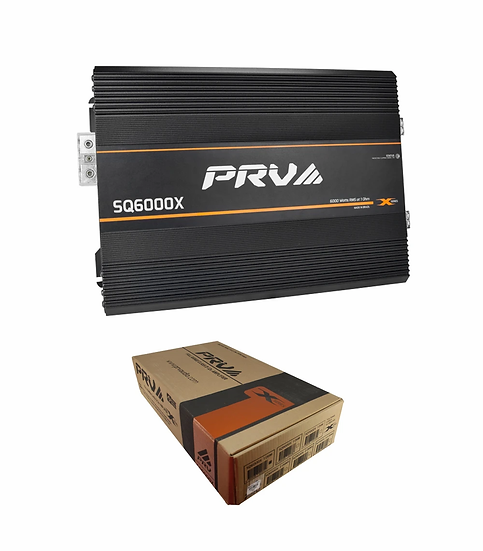 PRV Audio Monoblock 13.0 V 1 Ohm 6000 Watts Full Range Amplifier SQ6000x