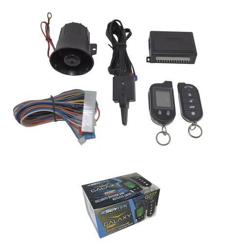 ScyTek Galaxy G777 V2 2 Way Car Alarm Anti Theft Security System Keyless Entry