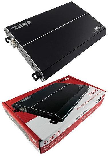 Elite 2 Channel Class D Monoblock Car Amplifier 3000 Watts DS18 Z-3K1D