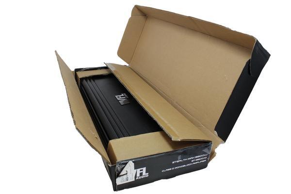 Open Box - VFL Monoblock Amplifier 5500W 1-Ohm Stable VFL Stealth 5500.1D