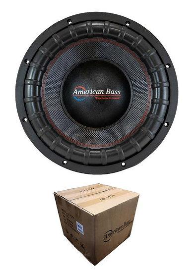 "American Bass 12"" Godfather 6000W Dual 1 Ohm Subwoofer GODFATHER12 D1"