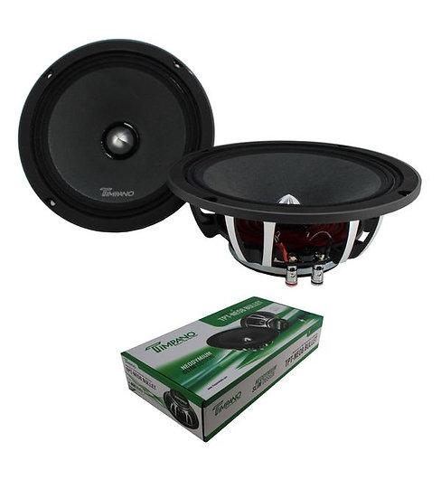 """8"""" Neodymium Bullet Speaker Pair 400W 4 Ohm Pro Car Audio TPT-NEO8"""