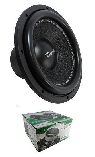 "12"" Subwoofer 1600W 4 Ohm DVC Pro Car Audio Bass Timpano TPT-TSUB12 D4"