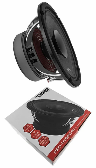 "Pro Hybrid 10"" Midrange Loud Speaker 600W 8 Ohm DS18"
