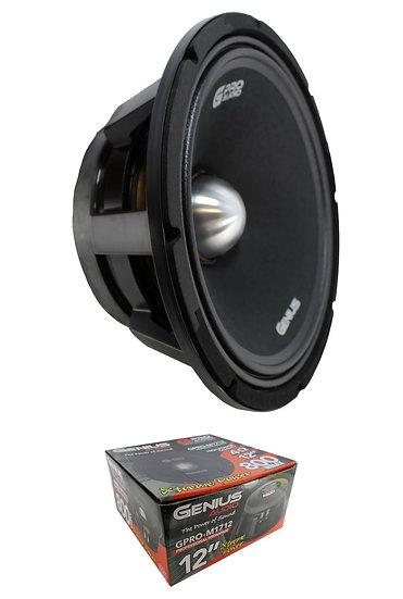 """Genius Audio GPRO-M1712 12"""" Midrange Loudspeaker 800W 4-Ohm"""